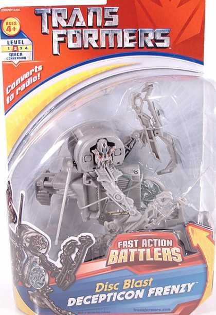 Action Figure Boxes - Transformers_: Disc Blast Deception Frenzy