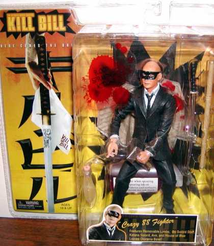 Action Figure Boxes - Kill Bill: Crazy 88 Fighter