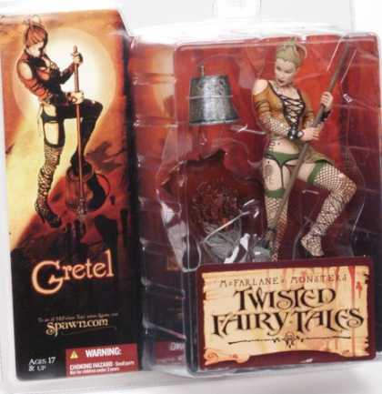 Action Figure Boxes - Twister Fairy Tales: Gretel