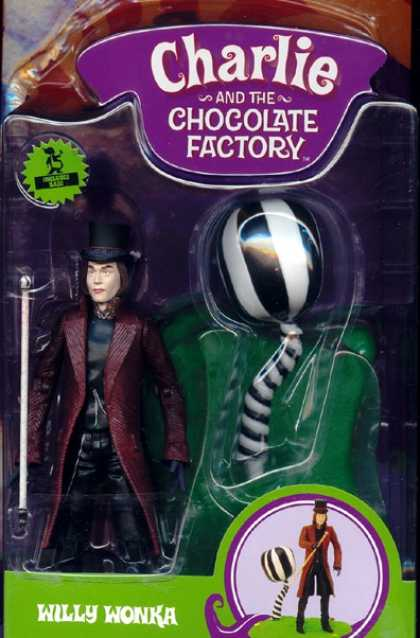 Action Figure Boxes - Charlie and the Chocolate Factory: Willy Wonka