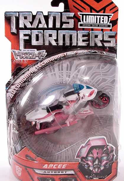 Action Figure Boxes - Transformers: Arcee Autobot