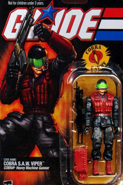 Action Figure Boxes - G.I. Joe: Cobra S.A.W. Viper