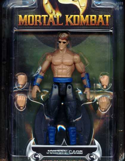 Action Figure Boxes - Mortal Kombat: Johnny Cage