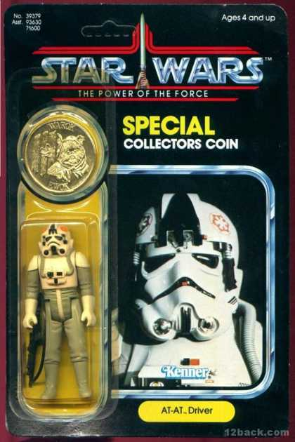 Action Figure Boxes - Star Wars: AT-AT Driver
