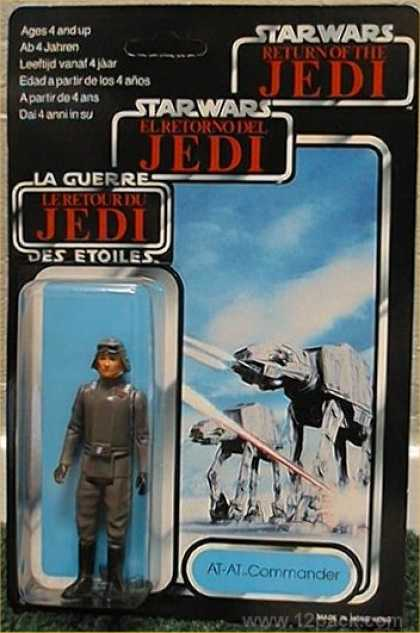 Action Figure Boxes - Star Wars: AT-AT Commander
