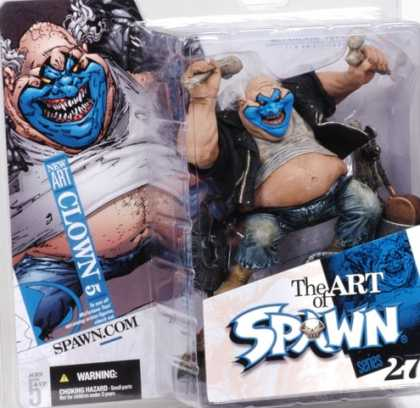 Action Figure Boxes - Art of Spawn: Clown