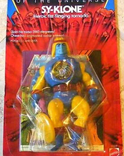 Action Figure Boxes - Masters of the Universe: Sy-Klone