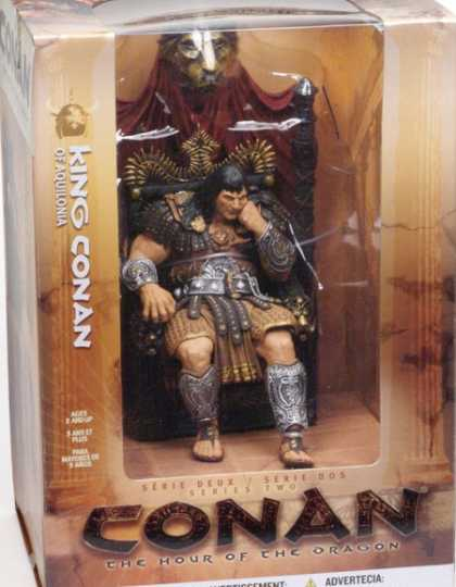 Action Figure Boxes - King Conan