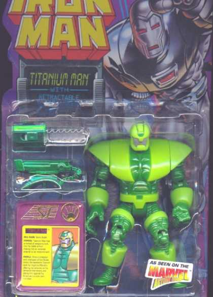 Action Figure Boxes - Iron Man: Titanium Man