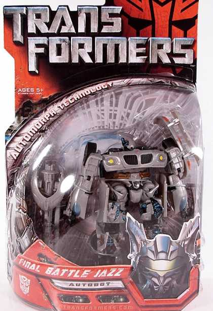 Action Figure Boxes - Transformers: Final Battle Jazz Autobot