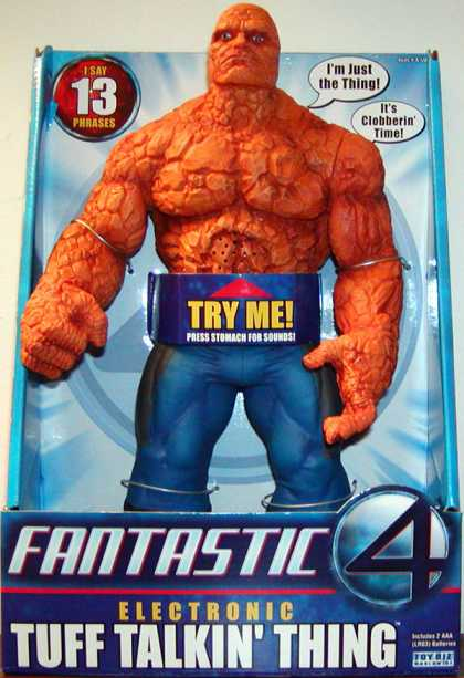 Action Figure Boxes - Fantastic 4: Thing