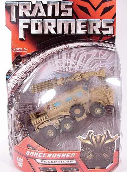Action Figure Boxes - Transformers: Bonecrusher Decepticon