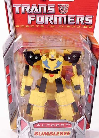 Action Figure Boxes - Transformers: Autobot Bumblebee