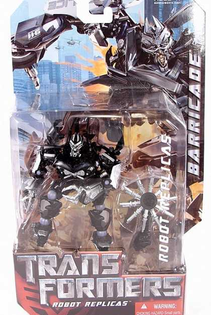 Action Figure Boxes - Transformers: Barricade