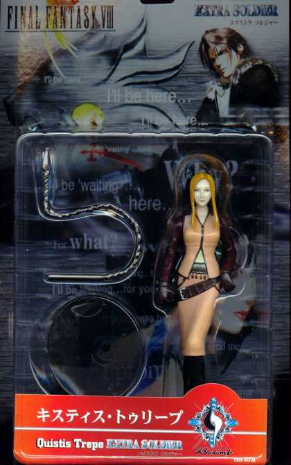 Action Figure Boxes - Final Fantasy VIII: Quistis Trepe