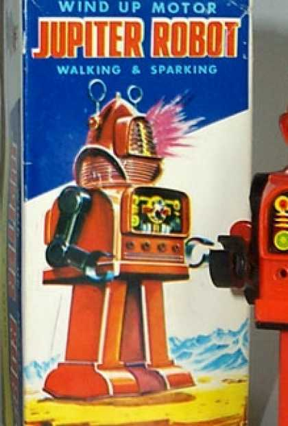Action Figure Boxes - Jupiter Robot