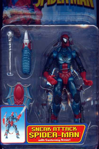 Action Figure Boxes - Sneak Attack Spider-Man