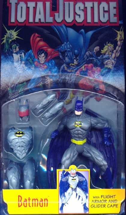 Action Figure Boxes - Batman with Flight Armor