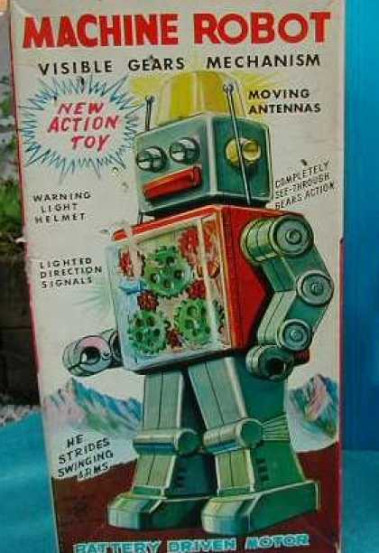 Action Figure Boxes - Machine Robot