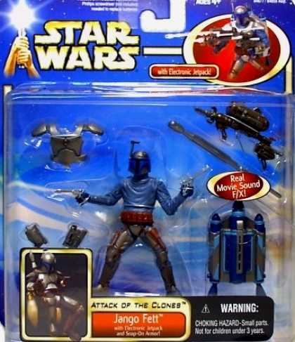 Action Figure Boxes - Star Wars: Jango Fett