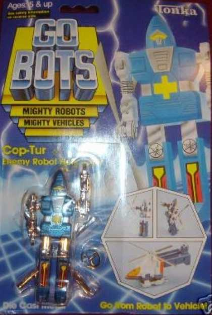 Action Figure Boxes - Gobots Cop-Tur