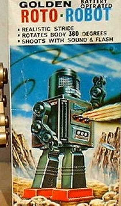 Action Figure Boxes - Roto-Robot