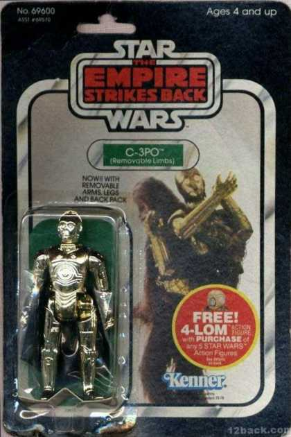 Action Figure Boxes - Star Wars: C-3PO