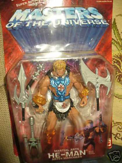 Action Figure Boxes - Masters of the Universe: He-Man