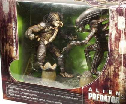 Action Figure Boxes - Alien and Predator