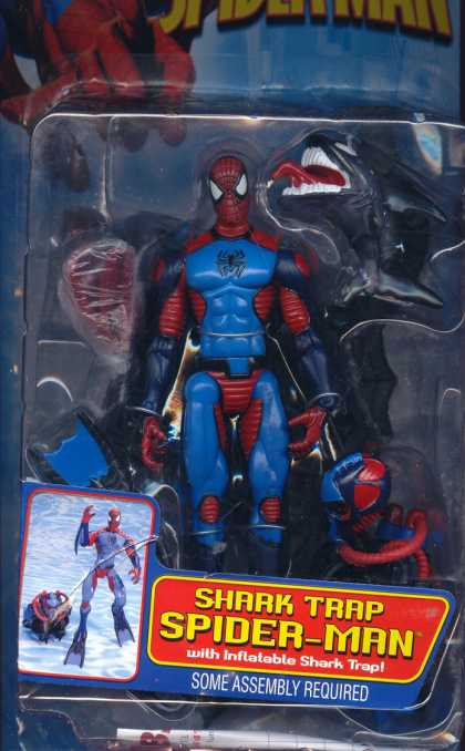 Action Figure Boxes - Shark Trap Spider-Man