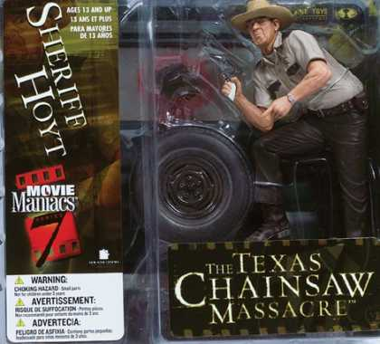 Action Figure Boxes - Texas Chainsaw Massacre: Sheriff Hoyt