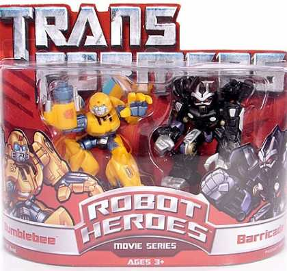 Action Figure Boxes - Transformers: Robot Heroes