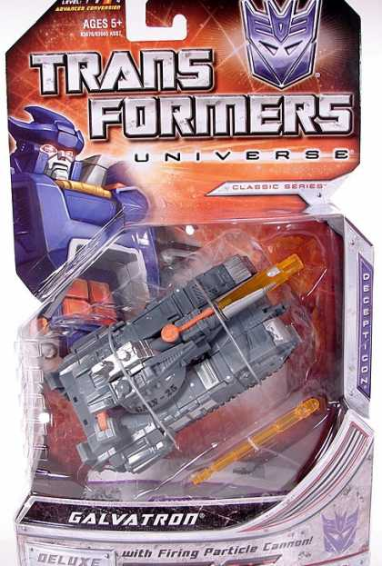 Action Figure Boxes - Transformers. Galvatron