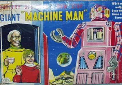 Action Figure Boxes - Giant Machine Man