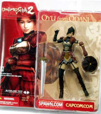 Action Figure Boxes - Onimusha 2: Qyu from Odani