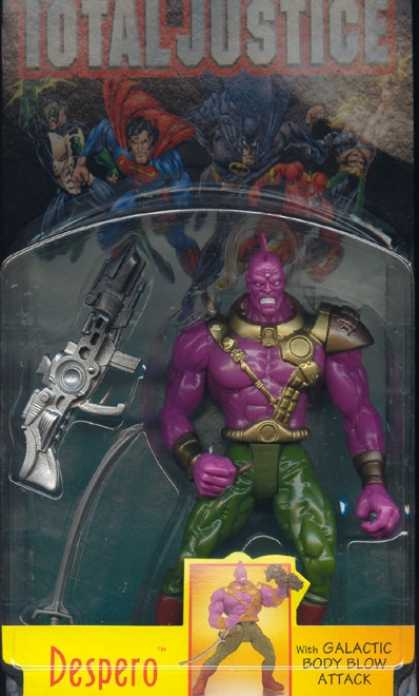 Action Figure Boxes - Total Justice: Despero
