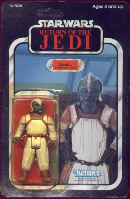 Action Figure Boxes - Star Wars: Klaatu