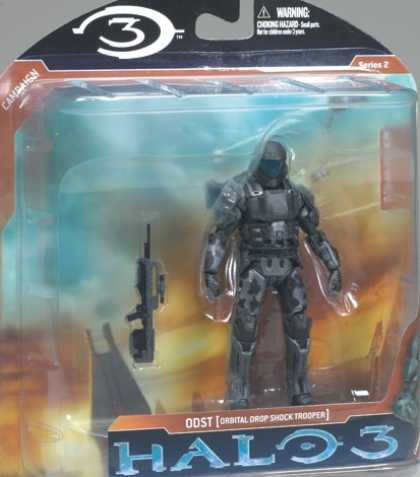 Action Figure Boxes - Halo 3: ODST