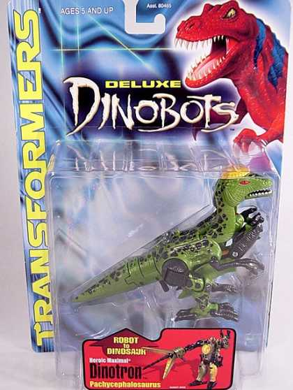 Action Figure Boxes - Transformers: Deluxe Dinobot Dinotron