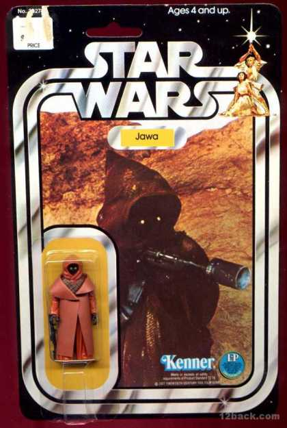 Action Figure Boxes - Star Wars: Jawa