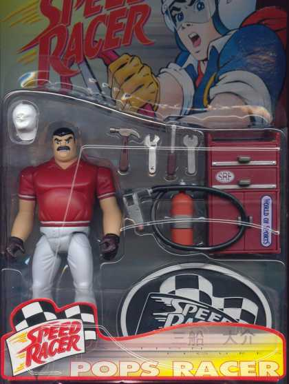 Action Figure Boxes - Speed Racer: Pops Racers