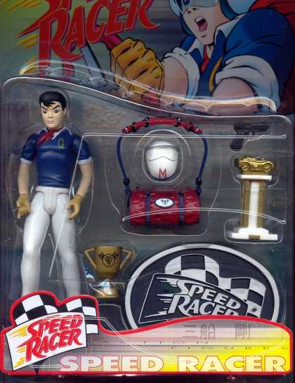 Action Figure Boxes - Speed Racer