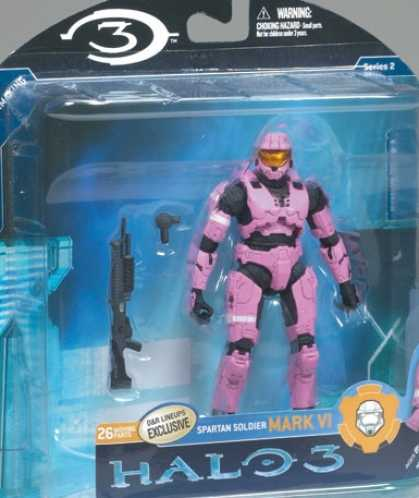 Action Figure Boxes - Halo 3: Mark VI