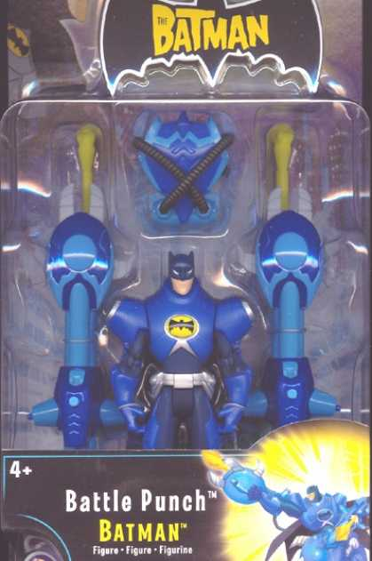 Action Figure Boxes - Battle Punch Batman