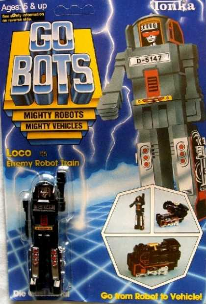 Action Figure Boxes - Gobots
