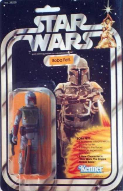 Action Figure Boxes - Star Wars: Boba Fett