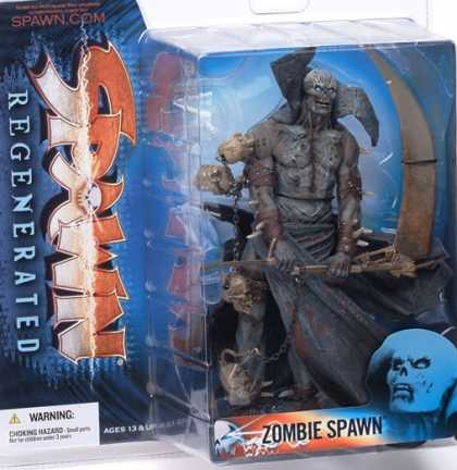 Action Figure Boxes - Zombie Spawn