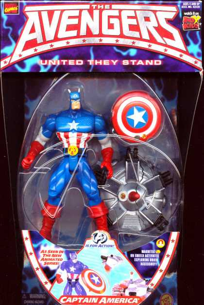 Action Figure Boxes - Captain America