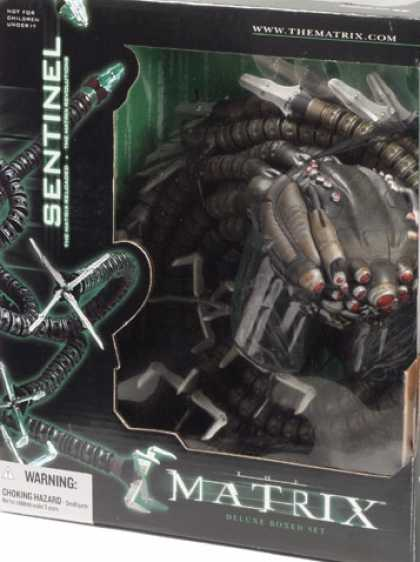 Action Figure Boxes - Matrix: Sentinel