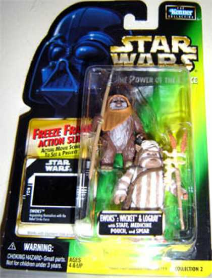 Action Figure Boxes - Star Wars: Ewok